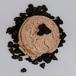 Galleta al cacao troceada